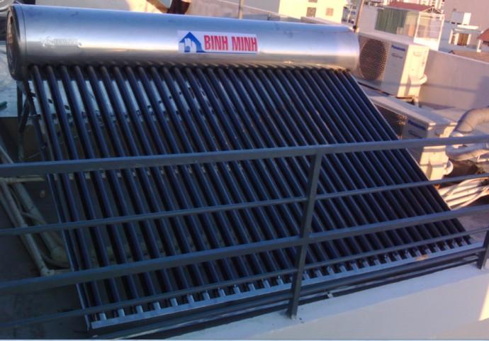 4 bộ phận cần quan tâm của bình nước nóng năng lượng mặt trời