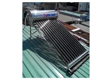 Máy nước nóng năng lượng mặt trời Bình Minh 140 lít